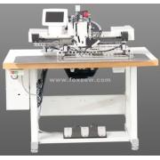 Máquina de costura programável de padrão extra pesado para materiais extremamente duros e duros