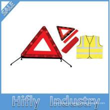 Alta qualidade 60 LED sinal do triângulo luminoso, quadro de triângulo de advertência do veículo, sinais de alerta do carro, sinais de alerta triângulo