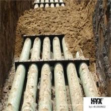 Buena tubería de revestimiento de cable de FRP resistente a químicos en agua de lluvia o agua de mar