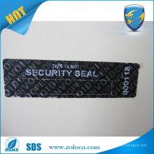 Factory price warranty void stickers open void security seal sticker