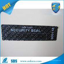 Garantia de preço de fábrica, adesivos vazios, aberto, vazio, selo de segurança, adesivo