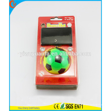 Горячая Распродажа Забавные Игрушки Зеленый Радуга Футбол Наручные Резиновые Прыгающий Мяч