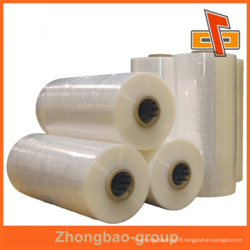 PVC materials clear heat shrink plastic film for printing