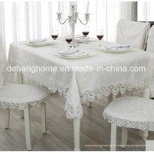 China Großhandel 100% Baumwolle Tischdecke