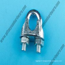 Nous Type Malleable Wire Wire Clip / pince Marine matériel