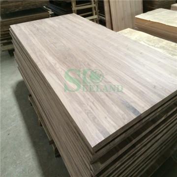 Nogal de alta calidad para el Panel de madera maciza