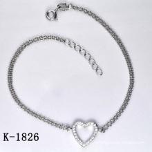 Мода Циркон ювелирные изделия Браслет 925 Серебро (K-1826. JPG)