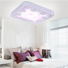 Elegant Square Wooden LED Ceiling Lamp / Ceiling Light
