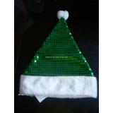 Plush Christmas Hat with Shining Beading