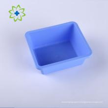 Bandeja de plástico cirúrgico para instrumentos médicos descartáveis