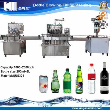 Máquina automática de enchimento de cerveja tipo linear