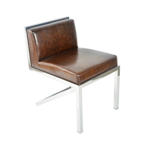 Modern simple V stainless steel chair