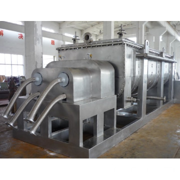 minicipal sludge dryer machine paddle dryer