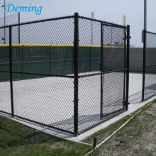 PVC coated chain link mesh stadium fence