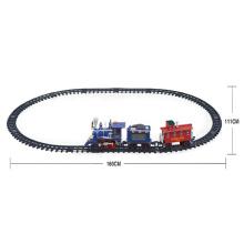 Brinquedo de trem orbital elétrico de plástico com música (10235155)