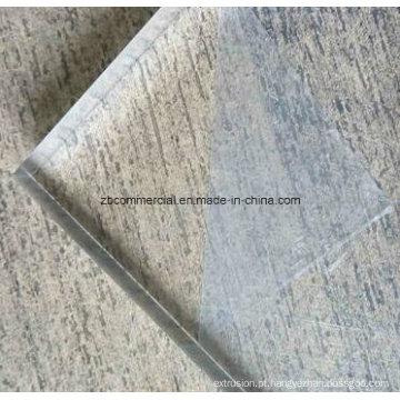 Placa de acrílico de placa de PMMA Placa de acrílico de placa de PMMA
