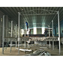 Hot DIP Galvanized Square Tube Steel Frame Modular House Building