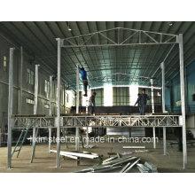 Hot DIP Galvanized Square Tube Steel Frame Modular House Building