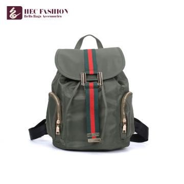 HEC Best Selling material macio mochilas escolares meninas mochila
