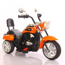 Los niños conducen el coche eléctrico más popular de 3 ruedas motos Kids con alta calidad con música