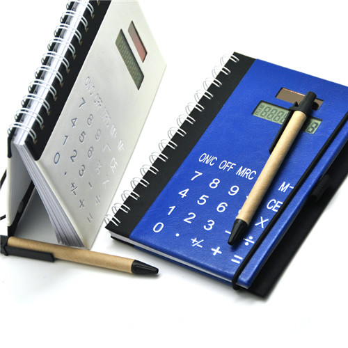 Hardcover Excutive Notebook with Calculator