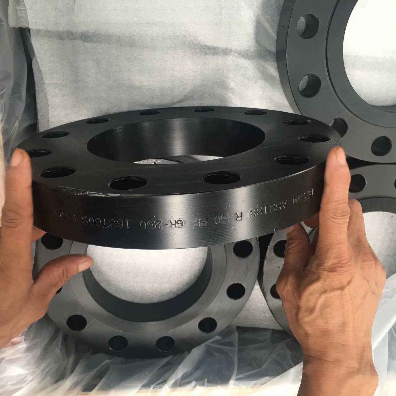 black forged steel flange