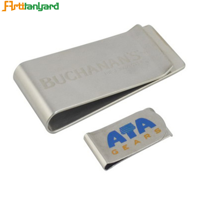 Wallet With Metal Money Clip
