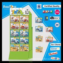 Heißer Verkauf Polizei / Feuer-Technik-Block Spielzeug-Set mit pdq Fahrzeug Spielzeug
