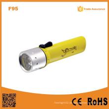 F95 Classic High Power Unterwasser wasserdicht Ipx8 Xre Q5 LED Tauchen Taschenlampe