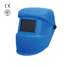 Industrial safety plastic mask welding helmet