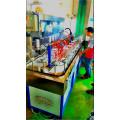 machine d'impression de bouteilles en verre de pots de soins de la peau de tasses