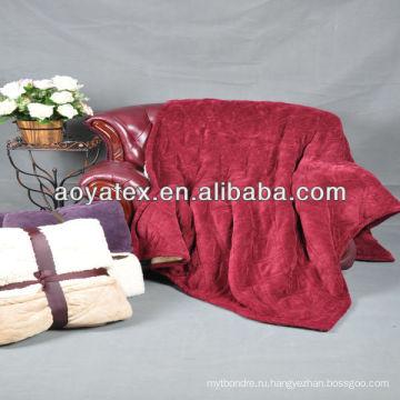 ультра мягкий&теплый мода тиснением одеяло