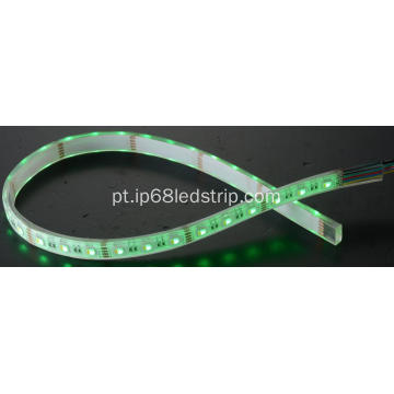 All In One SMD5050 10W RGBW Luz de tira led transparente