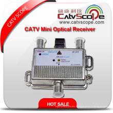 Mini receptor óptico de CATV / nudo óptico de fibra