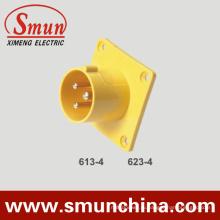 Настенный монтаж вилки 16А, 32А реализовать подключите
