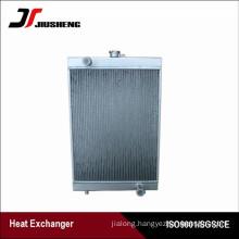 Bar Plate Aluminum Excavator Radiator For Doosan