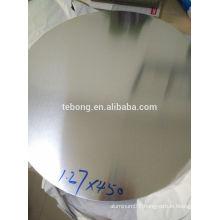 A1050 H12 Hot Rolled Aluminium Disc HO Soft Aluminum Circles 6.0mm