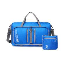 Wholesales Women Men Vacation Gym Folding Lightweight Waterproof Bags Luggage Travel Foldable Duffel Bag Ripstop Travel Bag