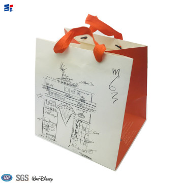 paper folding gift packaging bag