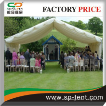 Rain proof garden shade wedding ceremony structure shelters 10x10m