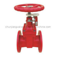 Non-Rising Stem Signal Flanged Fire Protection Gate Vale