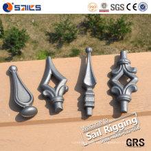 Puntos de lanza forjados de acero al carbono forjado