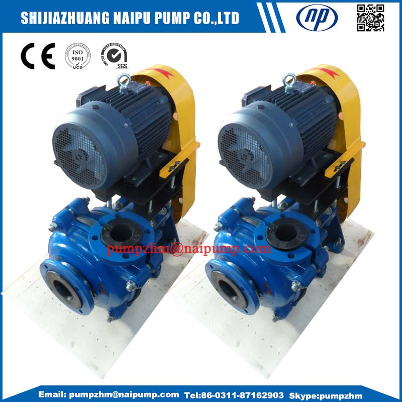 3 AH slurry pump
