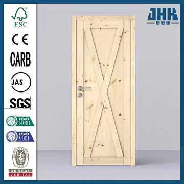 JHK Modern Bedroom Interior Solid Wood Door
