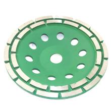 Diamond Grinding Tool Abrasive Tool Diamond Double Row Cup Wheel