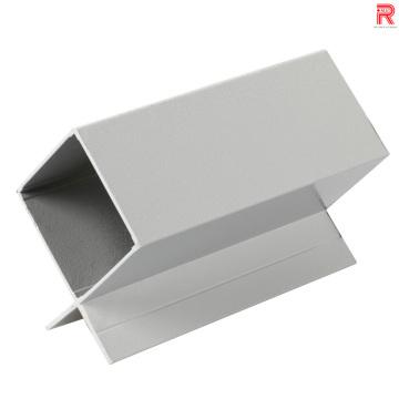 Perfiles de extrusión de aluminio / aluminio para sistema de ventilación