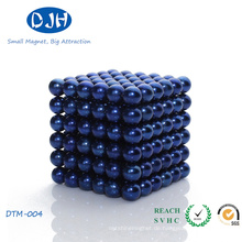 Nickel Plated Permanent NdFeB Buckyball Magnet
