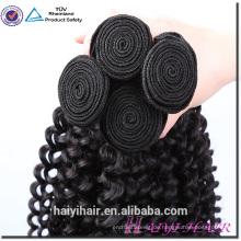 Volles Häutchen 100 menschliches malaysisches Haarbündel Wholesale 100 Nerz-malaysisches Jungfrau-Haar verworrenes gelocktes