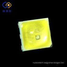 Nouveau UV SMD Bicolore de 0.5w 5053 365nm 395nm mené pour la lampe UV de clou de LED