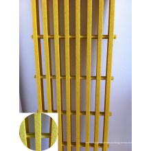 Стеклопластик/стеклопластик решетки, решетки Пултрузионный, стеклоткань Скрежеща